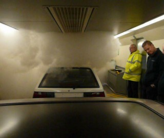 Fog Bandit Deployment for Eurotunnel Safety Training