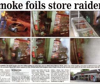 Fog Bandit foils Spar Raid