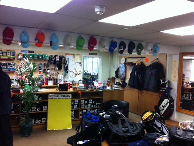 Golf Pro-shops, Trophy and Ground-keeping Equipment Protection